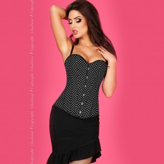 CORSET AND THONG CR-3610