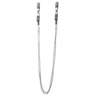 OUCH! ADJUSTABLE NIPPLE CLAMPS SILVER