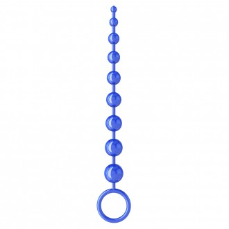 9 CUENTAS ANALES SEX PLEASE! SEXY BEADS AZULES