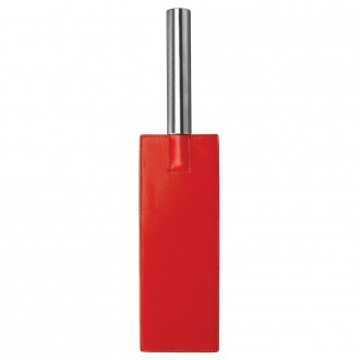 OUCH! LEATHER PADDLE RED
