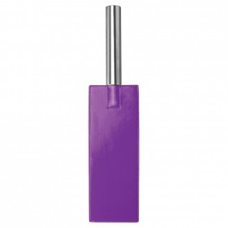 OUCH! LEATHER PADDLE PURPLE