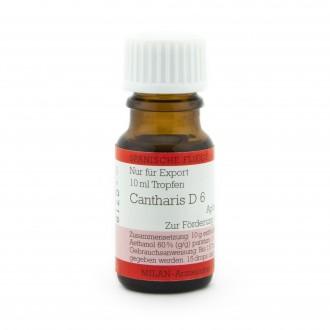 CANTHARIS D6 DROPS 10ML