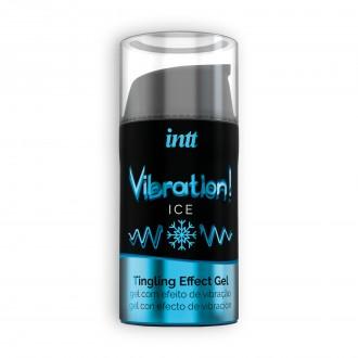 GEL CON VIBRACIÓN VIBRATION ICE INTT 15 ML