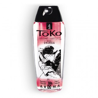 TOKO CHAMPAGNE AND STRAWBERRY LUBRICANT 165ML