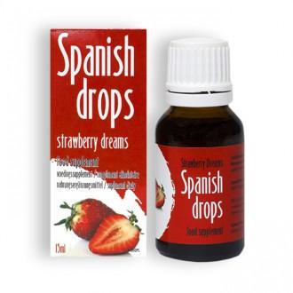SPANISH FLY STRAWBERRY DREAMS DROPS 15ML