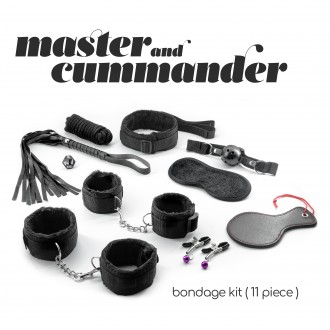 CRUSHIOUS MASTER & CUMMANDER 10 PIECE BONDAGE KIT