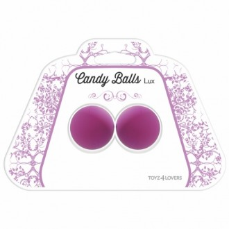 CANDY BALLS LUX VAGINAL BALLS PURPLE