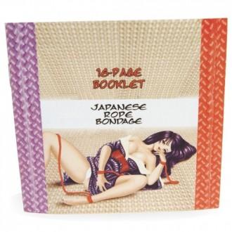 JAPANESE SILK LOVE ROPE WRIST CUFFS PURPLE